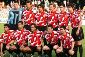 Grimme fodboldtrøjer -  Bilbao 2004