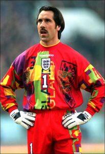 Grimme fodboldtrøjer - England målmandstrøje EM 1996