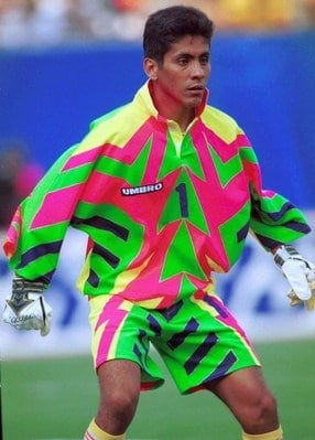 Grimme fodboldtrøjer - Mexico målmandstrøje VM 1994