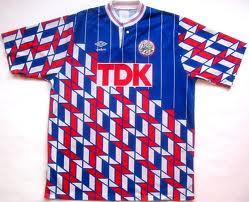 Ajax udebanetrøje 1989-90