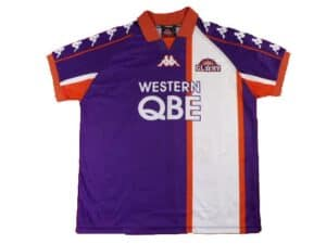 Grimme fodboldtrøjer - Perth Glory 2000-01