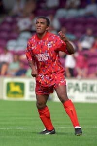 Grimme fodboldtrøjer - Scunthorpe udebanetrøje 1994-95