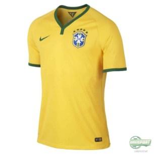 Brasilien VM hjemmebanetrøje