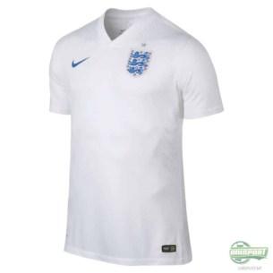 England VM hjemmebanetrøje
