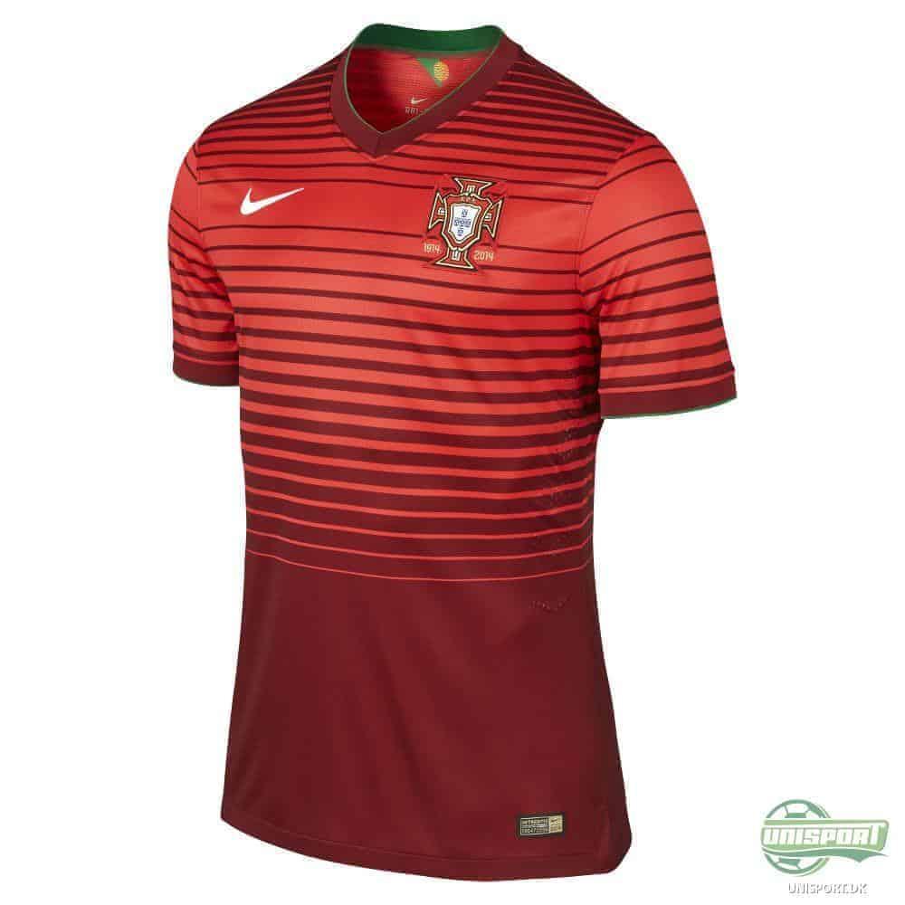 Portugals landsholdstrøje. Se VM i Cristiano Ronaldos trøje