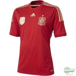 Spanien VM hjemmebanetrøje
