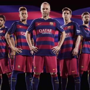 Barcelona 2015-16 fodboldtrøjer