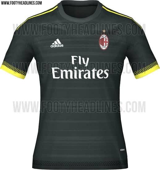AC Milan 3. trøje 2015/16