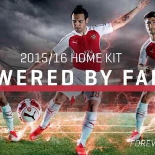 Arsenal trøjer 2015-16