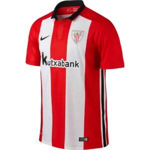 Athletic Bilbao hjemmebanetrøjer 2015/16