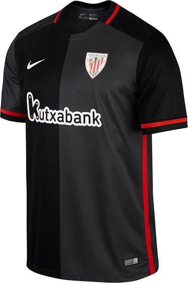 Athletic Bilbao udebanetrøjer 2015/16