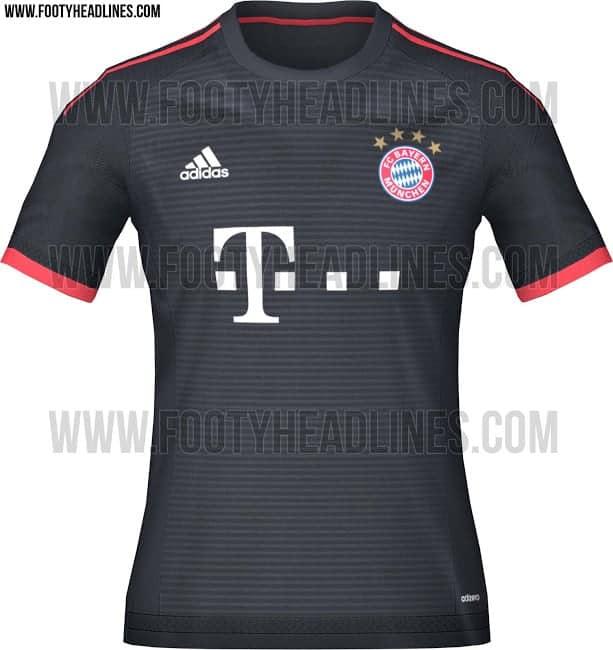Bayern München 3. trøje 2015-16