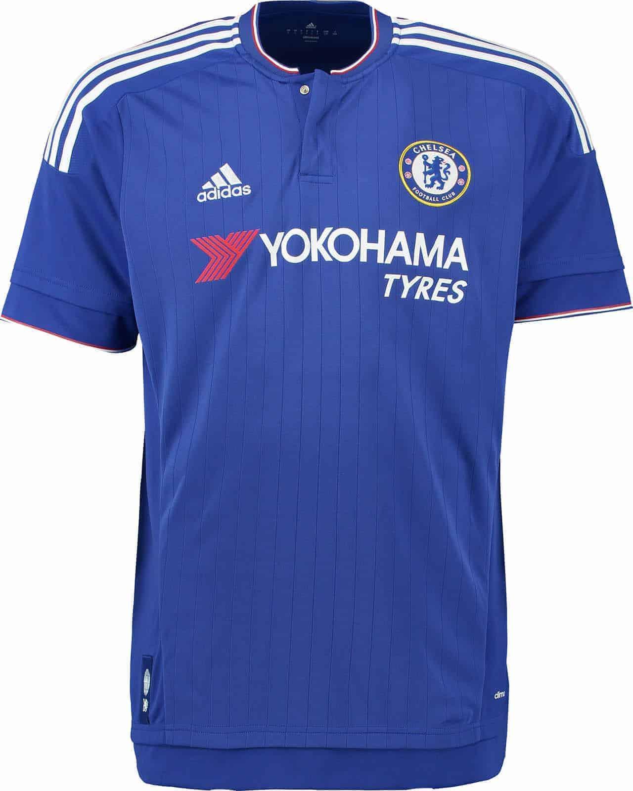 Chelsea hjemmebanetrøje 2015/16