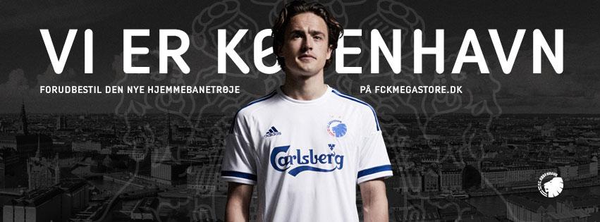 FCK trøje! Se laveste priser på FC København trøjer i DK!