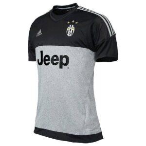 Juventus målmandstrøje grå/sort 2015/16