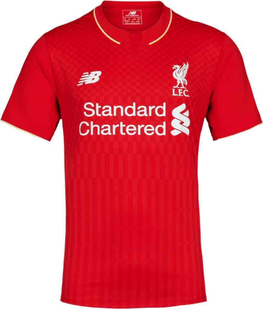 Liverpool hjemmebanetrøje 2015-16