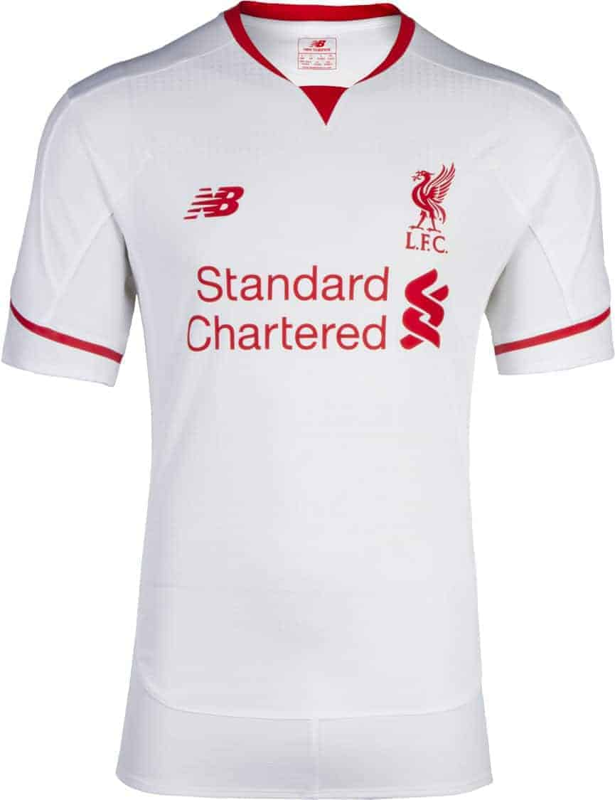 Liverpool udebanetrøje 2015-16