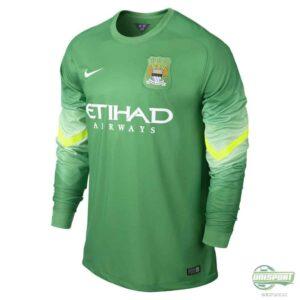 Manchester City målmandstrøje 2014/2015