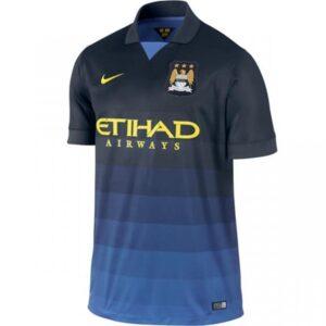 Manchester City udebanetrøje 2014/2015