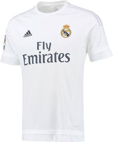 Real Madrid hjemmebanetrøje 2015/16