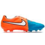 Nike Tiempo Legacy Blå Orange Hvid