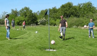 Fodboldgolf er sjovt