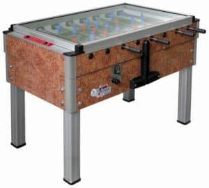 Det klassiske italienske bordfodboldbord.