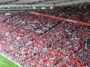 Manchester Uniteds hjemmebane Old Trafford.  Billede: Ian Mcallister
