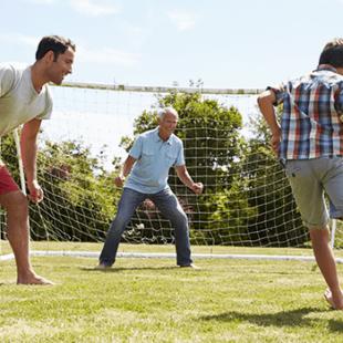 Fodboldmål til haven - mange timers sjov for alle