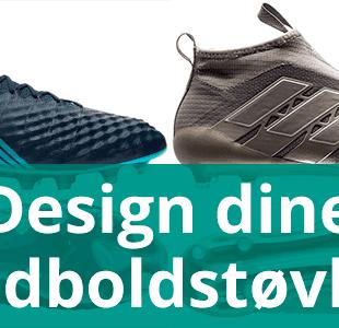 Design dine egne fodboldstøvler