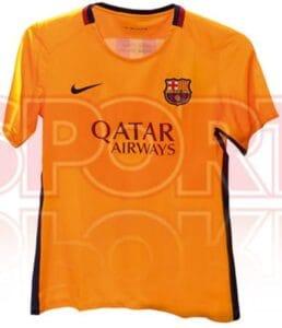 FC Barcelona 2015-16 udebanetrøje