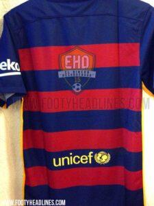 FC Barcelona 2015-16 hjemmebanetrøje