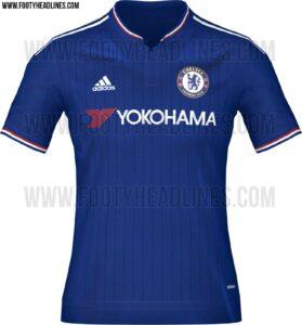 Chelsea hjemmetrøje 2015/206