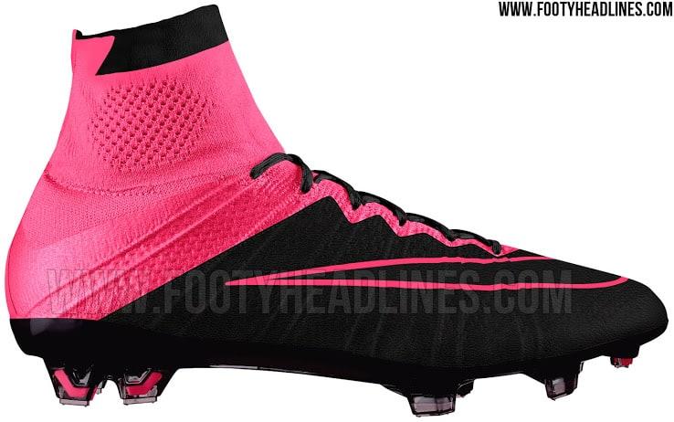 Ny serie af Nike Mercurial lækket nye farver og læder