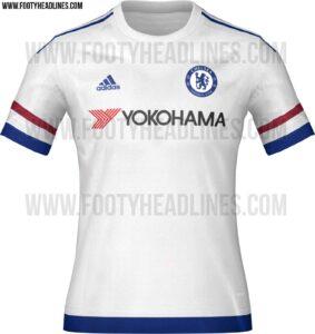 Chelseas udetrøje 2015/2016