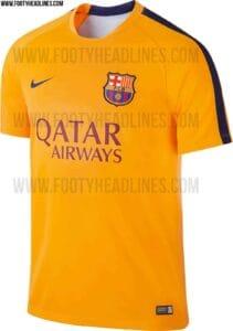 FC Barcelona 2015-16 Pre Match trøjer