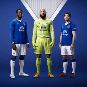 Everton fodboldtrøjer 2015-16
