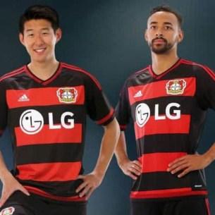 Bayer Leverkusen fodboldtrøjer 2015/16