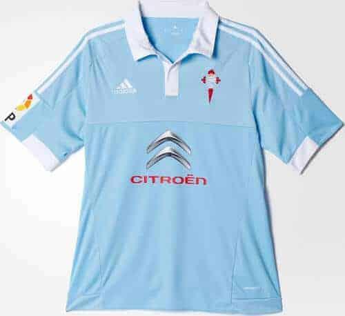 Celta Vigo hjemmebanetrøje 2015/16