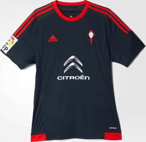 Celta Vigo udebanetrøje 2015/16