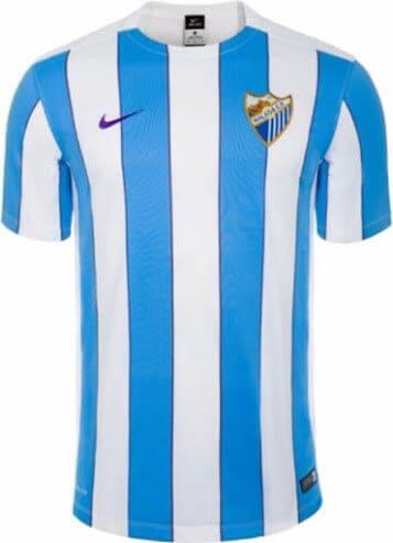 Malaga hjemmebanetrøje 2015/16