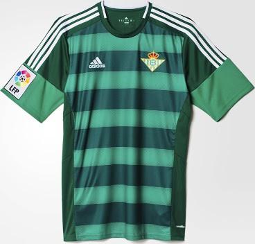 Real Betis udebanetrøje 2015/16