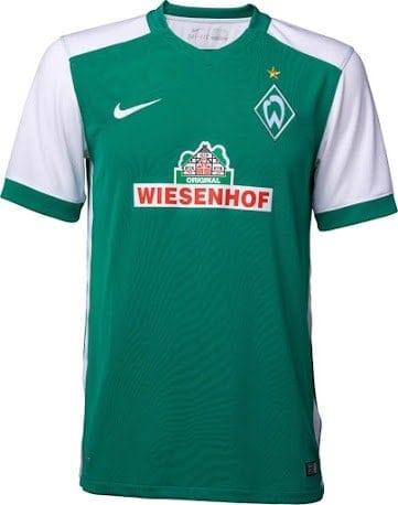 Werder Bremen hjemmebanetrøje 2015/16