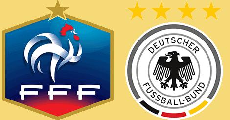 Optakt: Frankrig - Tyskland