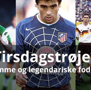 Fede, grimme og legendariske fodboldtrøjer