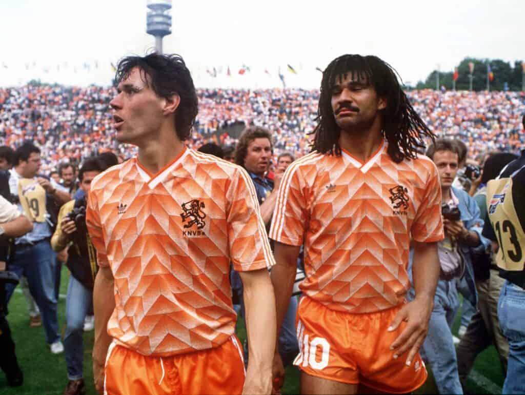 Hollands trøje ved EM 1988