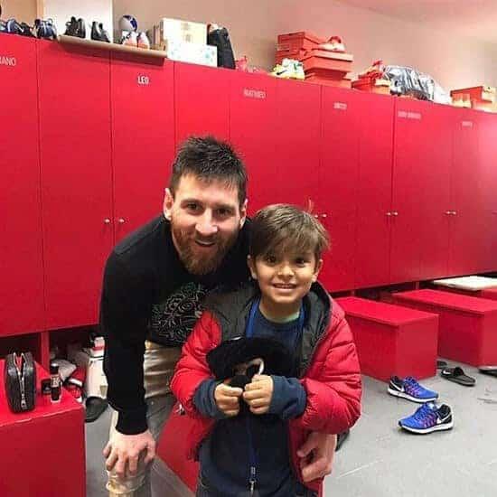 Lionel Messi nye støvler