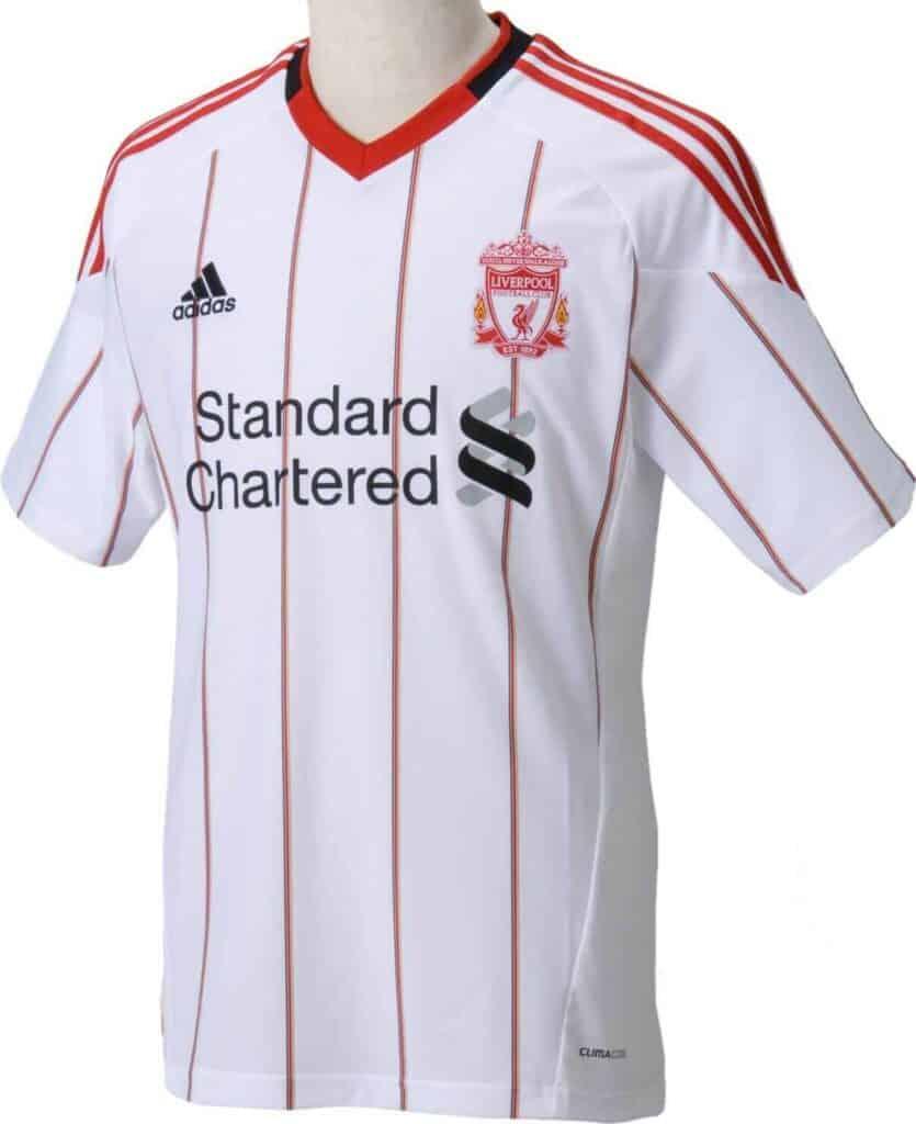 Liverpool 2010/11 udebanetrøje