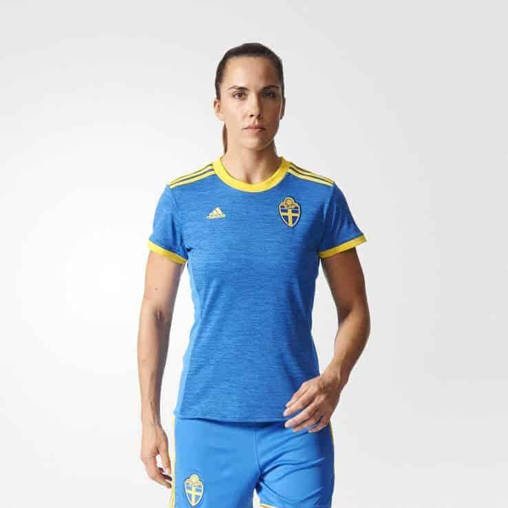 Sverige EM 2017 kvinder hjemmebanetrøje