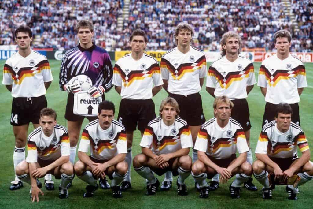 Vesttysklands VM trøje 1990